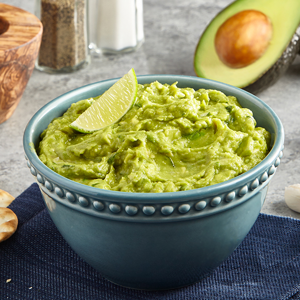 RICH ROASTED GARLIC GUACAMOLE