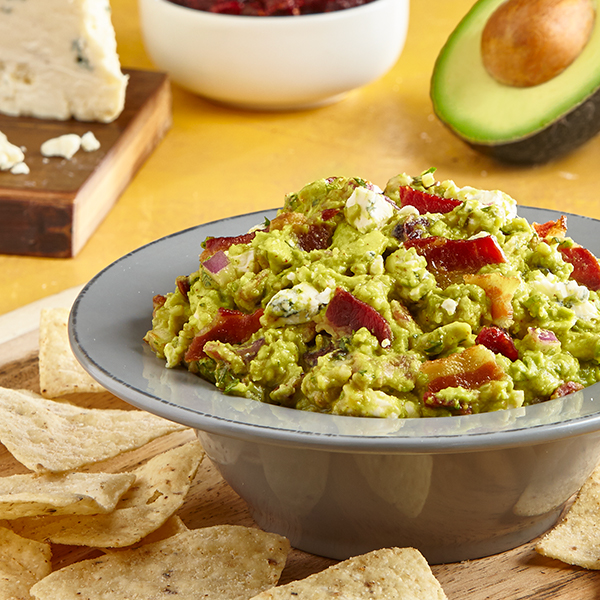 BACON GORGONZOLA GUACAMOLE
