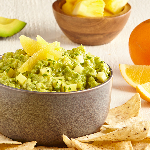 PINEAPPLE & ORANGE GUAC