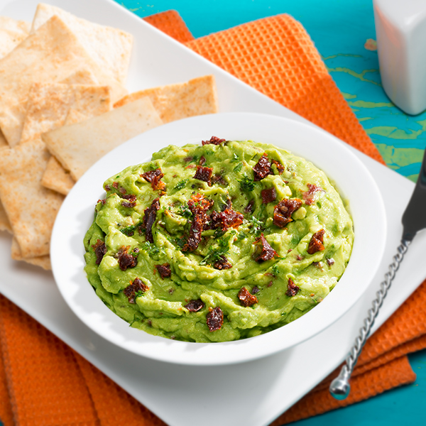 GUAC WITH WINE