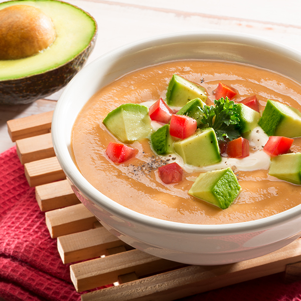 AVOCADO GAZPACHO WITH SHERRY
