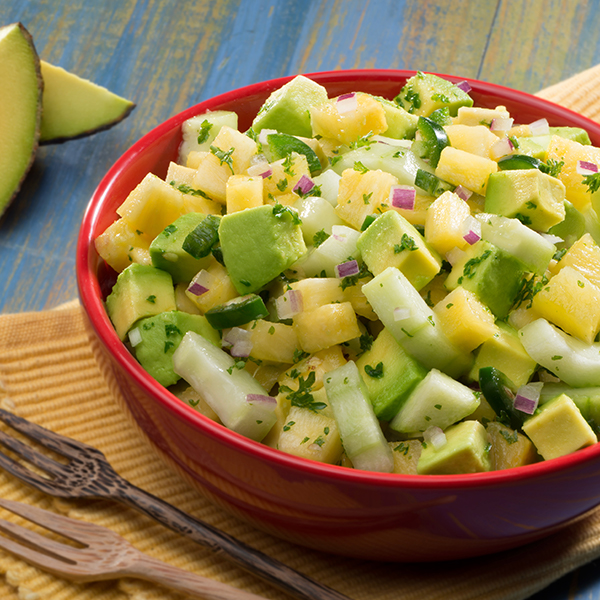 PINEAPPLE & CUCUMBER GUAC