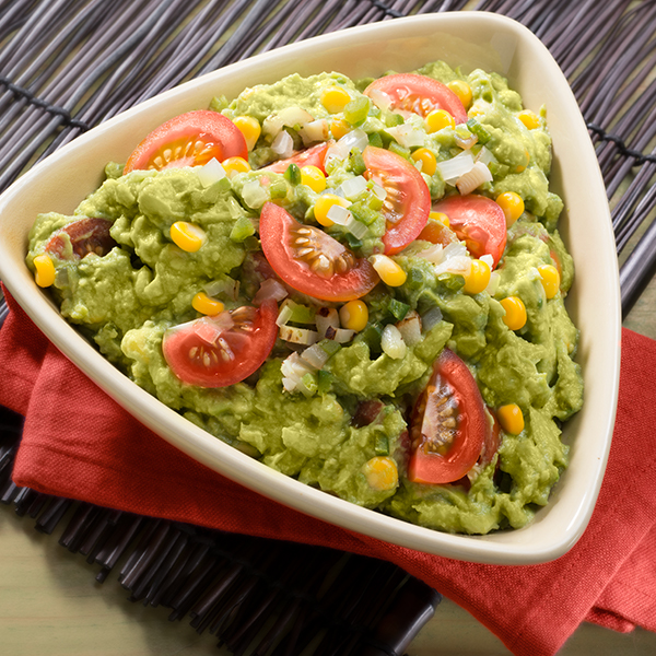 RUSTIC GUAC WITH CORN