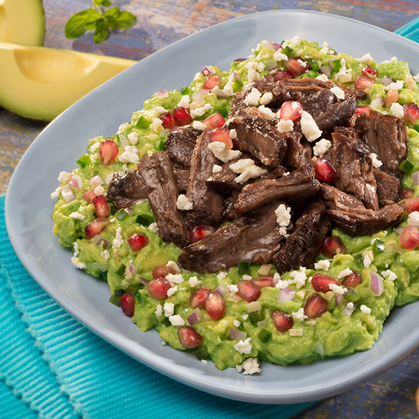 SHORT RIBS AND FETA GUAC