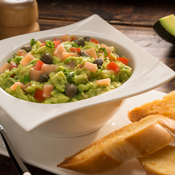 GUAC WITH SALMON