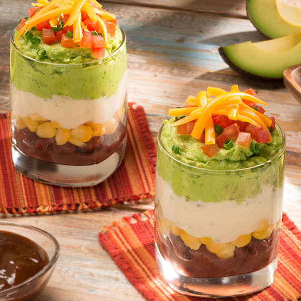 7-LAYER DIP CUP