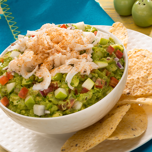 TARRAGON, APPLE, & CRAB GUAC