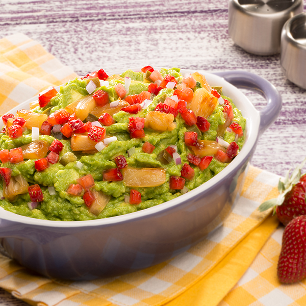 FRUIT GUAC WITH CREME