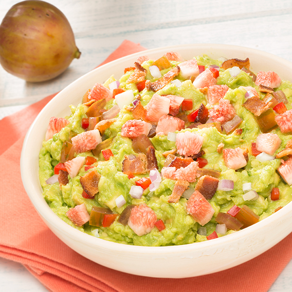 SPICY FIG & BACON GUAC