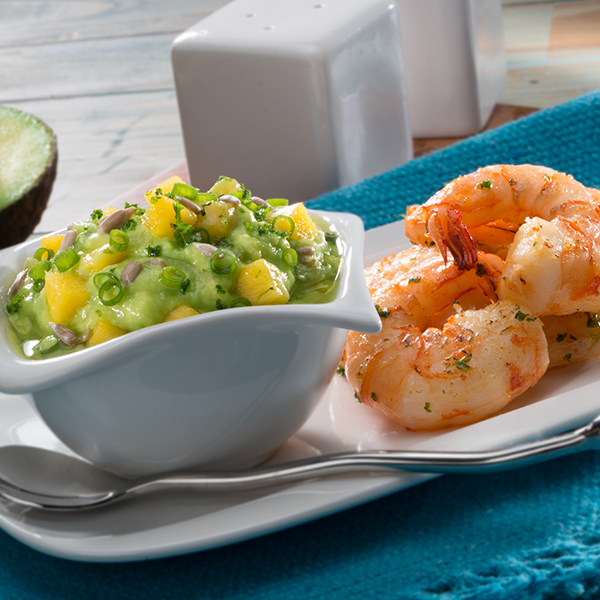 AVOCADO AND TROPICAL FRUIT SALSA